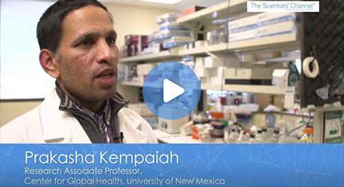 [Video] Dr. Prakasha Kempaiah, Center for Global Health, Department of Internal Medicine, University of New Mexico
