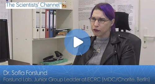 [Video] Dr. Sofia Forslund, Experimental and Clinical Research Center (MDC/Charité)