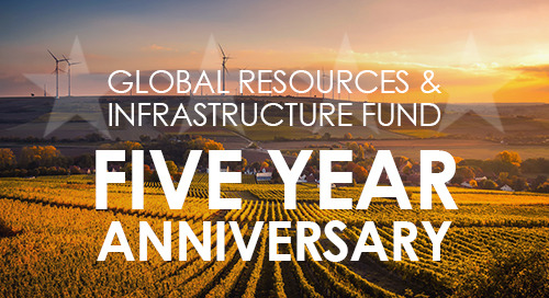 5 Years Strong: Global Resources & Infrastructure Fund