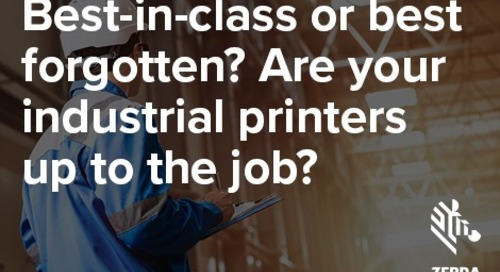Are Your Industrial Printers up to the Job?