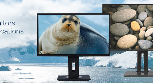 ViewSonic Introduces New Professional and Enterprise Monitors