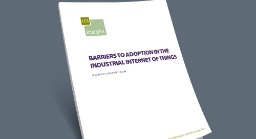 Barriers to Adoption in the Industrial Internet of Things