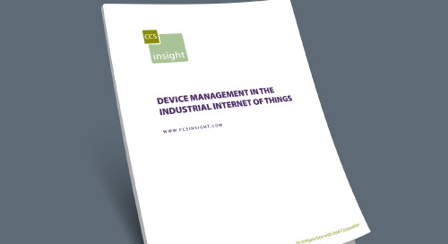 Device Management in the Industrial Internet of Things