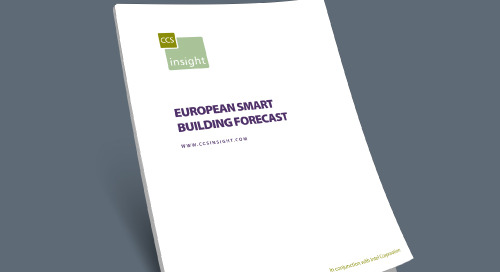 European Smart Building Forecast