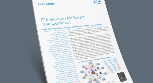 E2E Solution for Smart Transportation