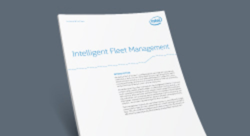 Intelligent Fleet Management With Intel Atom® E3827