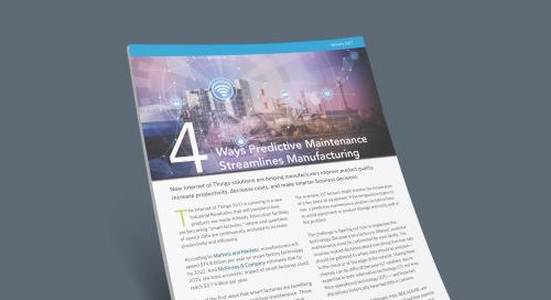 Four Ways Predictive Maintenance Streamlines Manufacturing