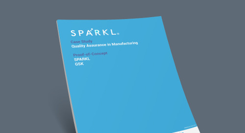SPARKL® Ensures Quality Assurance for GSK with Intel-based Sensors