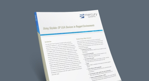 Using Skylake-SP LGA Devices in Rugged Environments