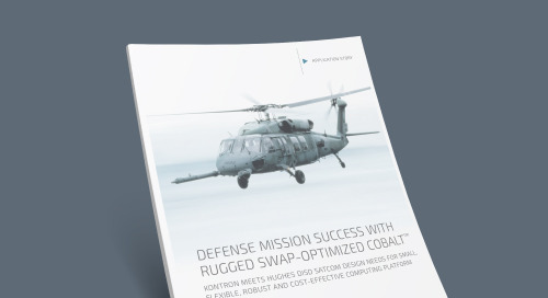Defense Mission Success With Rugged SWAP-Optimized Cobalt™