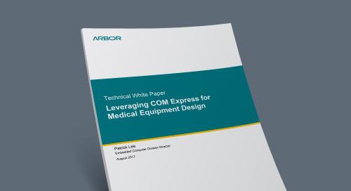 Leveraging COM Express for Medical Equipment Design