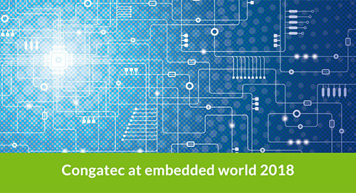 Congatec Demos Edge Server Tech at embedded world 2018