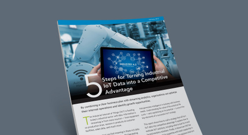 5 Steps for Turning Industrial IoT into a Competitive Advantage