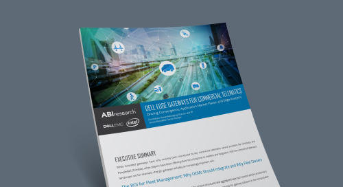 Dell Edge Gateways for Commercial Telematics: Driving Convergence, Application Market Places, and Edge Analytics