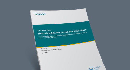 Industry 4.0: Focus on Machine Vision