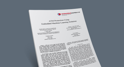 ATM Protection Using Embedded Machine Learning Solutions