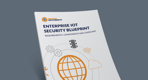 Enterprise IoT Security Blueprint: Requirements, Components and Guidelines