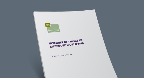 Internet of Things at Embedded World 2018