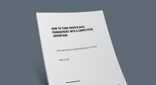 Turning Data Management into Competitive Advantage