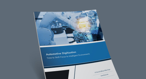 Automotive Digitization: Time to Shift Focus to Intelligent Environments