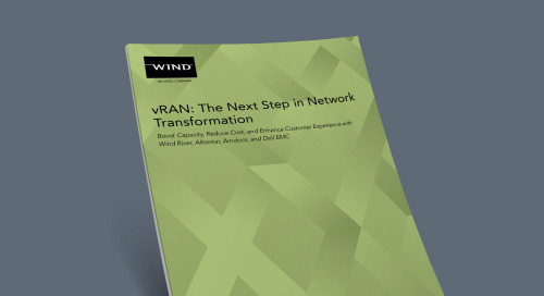 vRAN: The Next Step in Network Transformation
