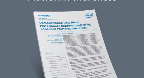 Boost Data Plane Performance With Enhanced Platform Awareness