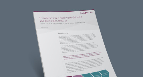 Establishing a Software-Defined IoT Business Model