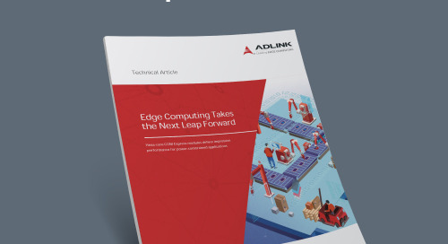 Edge Computing Takes the Next Leap Forward