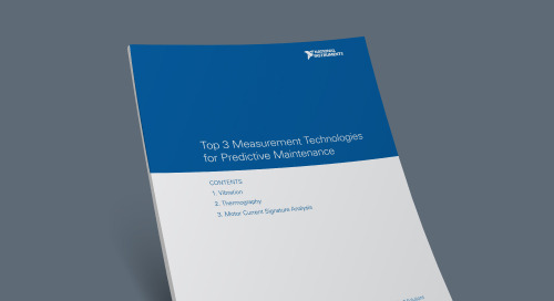 Top 3 Measurement Technologies for Predictive Maintenance