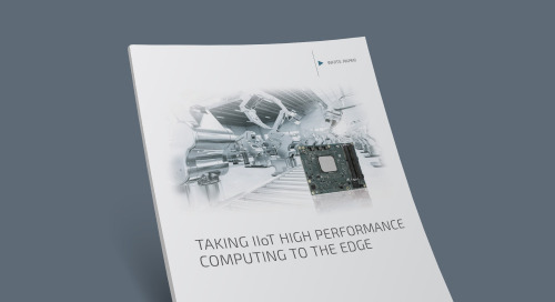 Taking IIoT High Performance Computing to the Edge