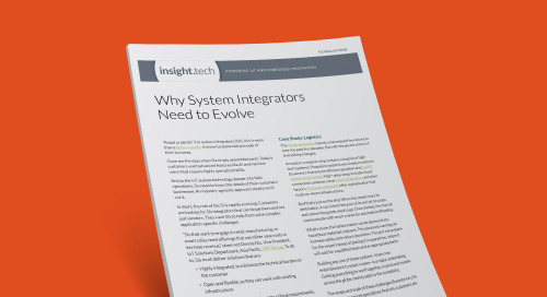 Why System Integrators Need to Evolve