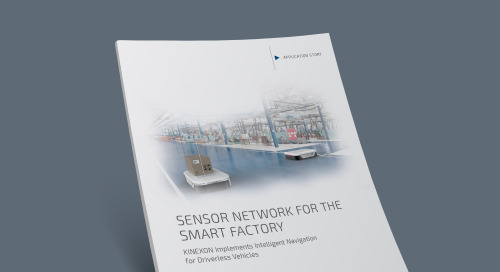 Sensor Network for the Smart Factory