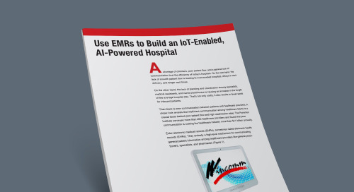 Use EMRs to Build an IoT-Enabled, AI-Powered Hospital