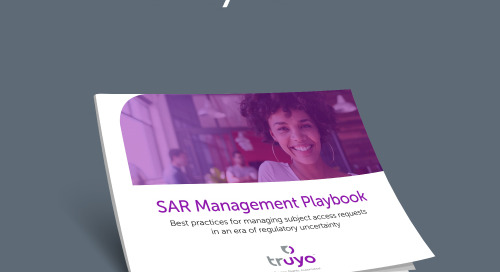 SAR Management Playbook