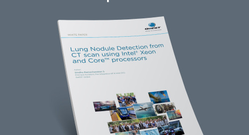 Lung Nodule Detection from CT scan using Intel® Xeon and Core™ processors