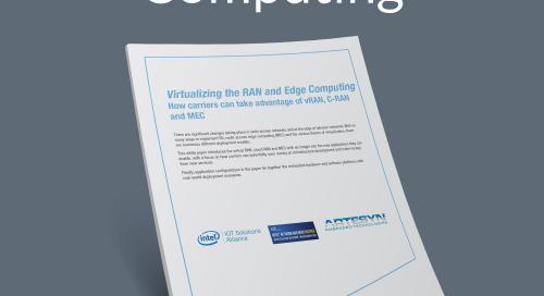 Virtualizing the RAN and Edge Computing
