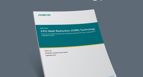 CPU Watt Reduction (CWR) Technology