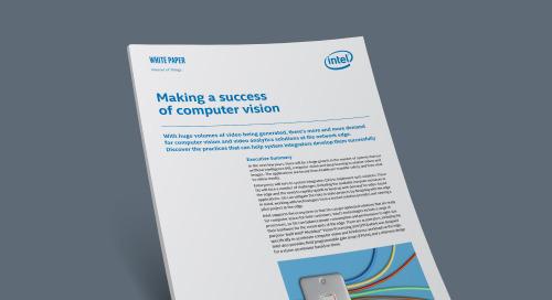 Making a Success of Computer Vision