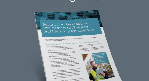 Reconciling Records and Reality for Asset Tracking and Inventory Management