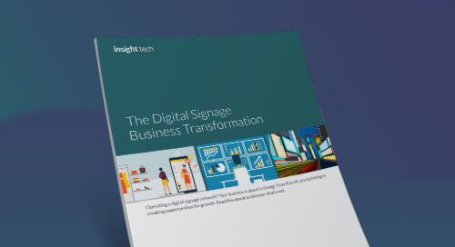 The Digital Signage Business Transformation