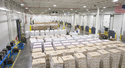 Preferred Freezer Saves Money, Improves Employee Safety with New LED Lighting System