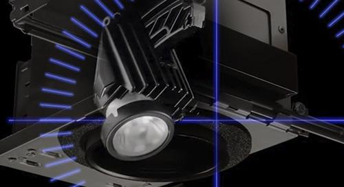 Juno® 4-inch Internally Adjustable LED Fixtures