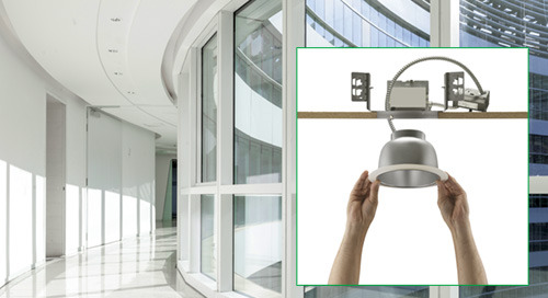 Juno® Commercial LED Retrofit Trims - JCLR Series