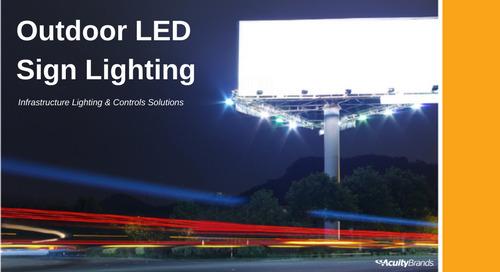 Outdoor LED Billboard Lighting Application Guide