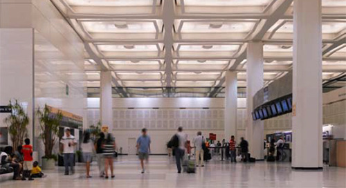 George Bush Intercontinental Airport in Houston