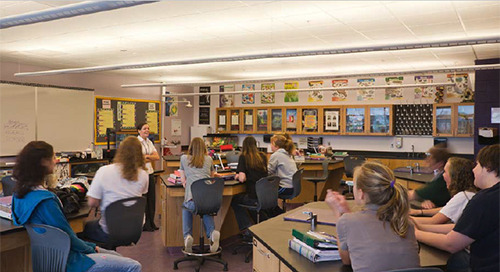 Progressive High School Chooses Enzo® to Enhance Learning Environments