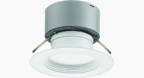 New! E Series LED Downlighting, More Versatile and Economical Than Ever!