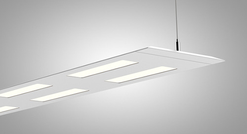 Beauty that Performs - The Olessence™ Suspended LED Luminaire