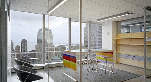 Custom Lighting Solves Needs of Publisher's New Headquarters
