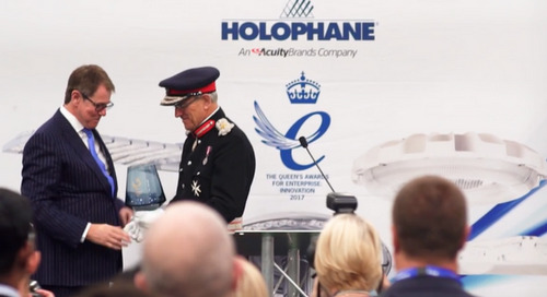 Holophane UK Recieves The Queen's Award for Enterprise